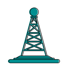 Antenna telecommunication icon image vector