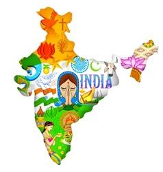 Culture of india vector