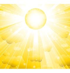 sun vector image