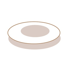 A bowl vector image