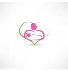 love for children icon vector image