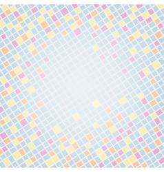 Multicolor Mosaic Background vector image