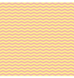 Tile pink and yellow zig zag pattern or decoration vector image