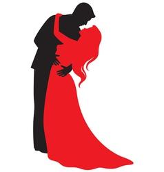 valentine hugs vector image
