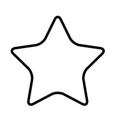 Cartoon star celebration decoration element icon vector