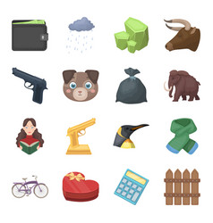 Finance police animals and other web icon in vector