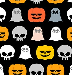 Seamless pattern for halloween background of the vector