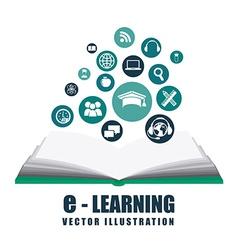 E-learning design vector
