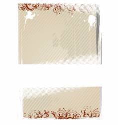 illustration of beige wallpaper vector image vector image