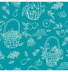 Summer seamless pattern bakground vector