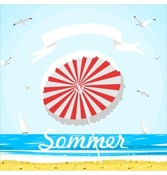 Summer and beach vector