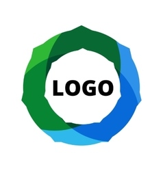 Business Abstract Circle logo vector image vector image