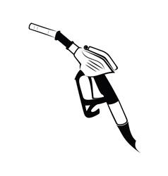 Gasoline pump nozzle vector