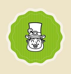 ireland icon design vector image vector image