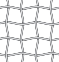 iron net vector image