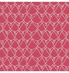 Seamless lacy pattern Endless texture vector image