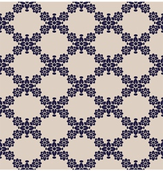 seamless pattern flower vector image vector image