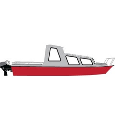 boat - vector image
