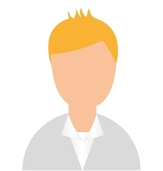 businessman avatar character isolated vector image