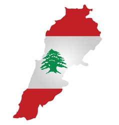 Lebanon flag vector