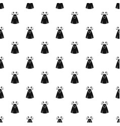 traditional bavarian dress pattern vector image
