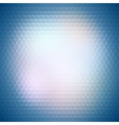 Colorful blue geometric background abstract vector