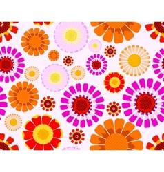 daisy seamless vector image