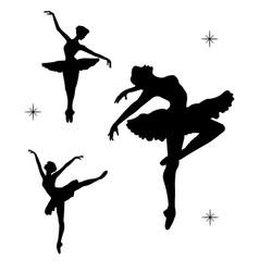 Balerina-silhouette vector