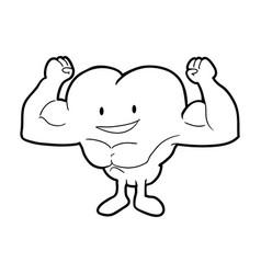 Body building and gym cartoon vector