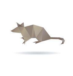 Mouse abstract isolated on a white backgrounds vector