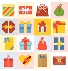 presents box vector image vector image