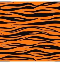 Tiger Print Pattern vector image