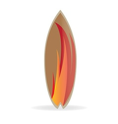 Surfboard design vector
