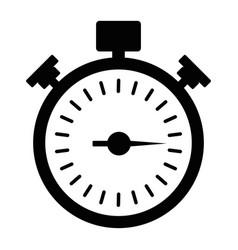 black stopwath icon vector image