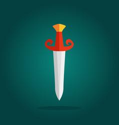 knives sharp blades symbols vector image vector image