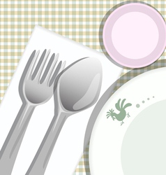 Meal Background vector image