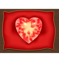 Heart of Valentine vector image