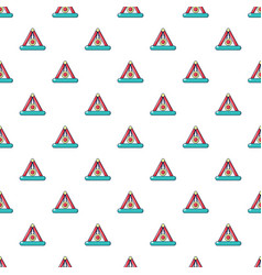 Attraction pendulum pattern seamless vector