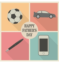 Dads stuff vector image