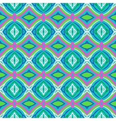 Pattern with bold stylized Indian motifs vector image vector image