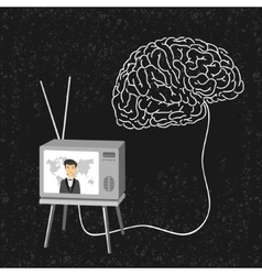 Scheme propaganda media vector