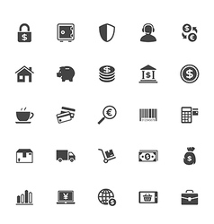 Shopping and commerce icon on white background vector
