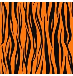 Tiger print pattern vector