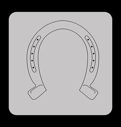 western icon vector image vector image