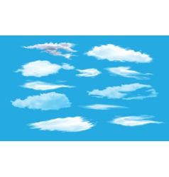 collection of sky vector image vector image