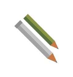 Pencil isolated vector image vector image