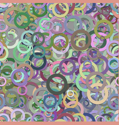 Repeating abstract geometric circle background vector