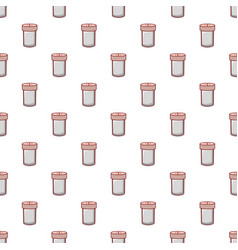 Salt shaker pattern seamless vector