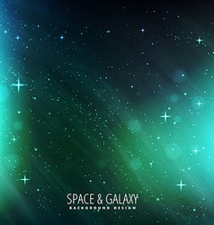 Universe space background vector