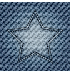 Jeans star vector